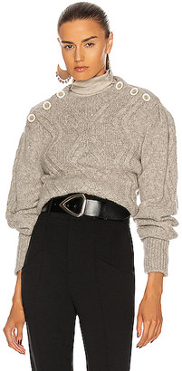 Isabel Marant Devlyn Sweater in Red