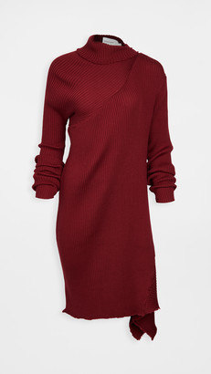 Marques Almeida Draped Neck Dress