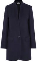 Stella McCartney Bryce Wool-blend Coat - Navy