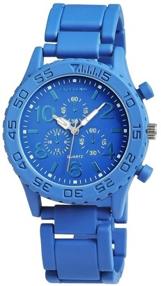 Excellanc 0Unisex Quartz Watch with Strap of Various Materials