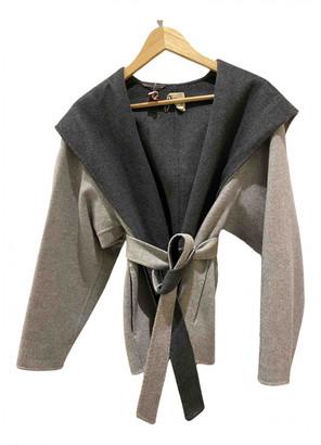 Hotel Particulier Grey Wool Jackets