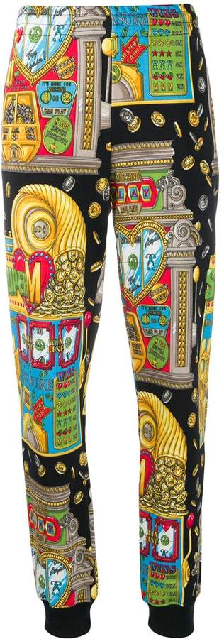 Moschino slot machine track pants
