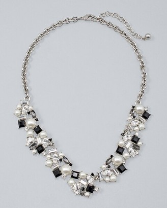 Chicos Cluster Statement Necklace