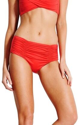 Seafolly Separates Gathered Front Retro Bikini Pant