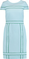 Raoul Swift paneled crepe mini dress