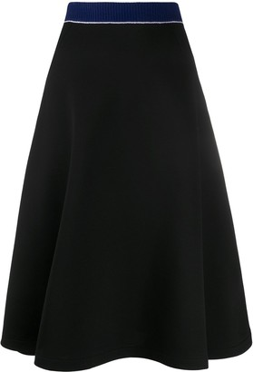 Marni Two-Tone Knitted Skirt
