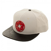Bioworld White & Red Galactic Empire Wool-Blend Baseball Cap