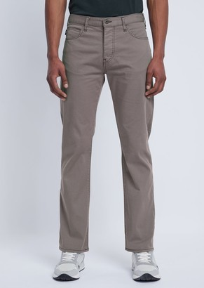 Emporio Armani Regular-Fit J21 Jeans In Stretch Cotton Gabardine