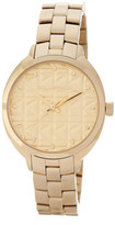 Karl Lagerfeld Women's Kuilted Bracelet Watch