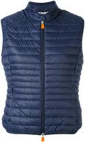 Save The Duck - sleeveless padded gilet - women - Nylon/Polyester - 2
