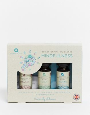 Aroma Home Mindfulness Essential Oil Blends 3x9ml