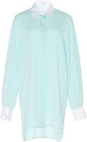 Andrew Gn Long Sleeve Shirt Dress