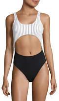 Design Lab Lord & Taylor Girl Gang Monokini