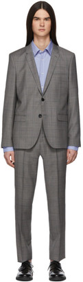 HUGO Grey Check Arti/Hesten Suit