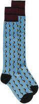 Marni dot printed socks
