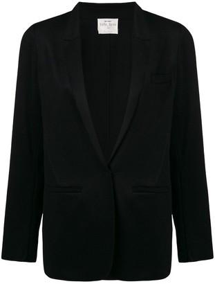 Forte Forte deep V-neck blazer jacket