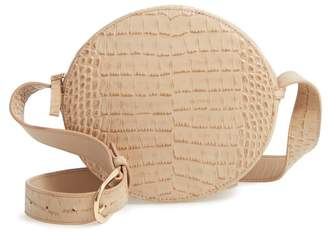 Nordstrom Gina Leather Circle Crossbody Bag