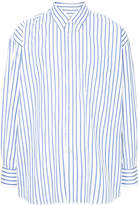 Our Legacy oversized striped shirt