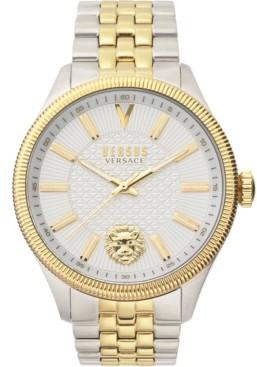 Versus By Versace Men's Colonne Two-Tone Stainless Steel Bracelet Watch 45mm