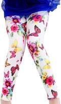 Aivtalk Baby Girls Lovely Full Length Bunny Pull-On Leggings Cotton Tights For 4 Years
