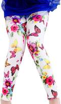 Aivtalk Girls Primary Perfect Fit Tights Cotton White Leggings Size 4