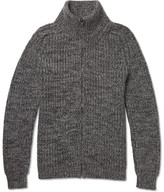 Richard James Wool Zip-up Sweater - Gray