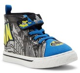 Batman Logo Casual High-Top Sneaker (Toddler Boys)