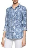 Calvin Klein Snake-Print Utility Shirt