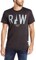 G Star Men's Righeatherex R T Short Sleeve Tees Black