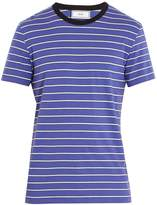 Ami Striped crew-neck T-shirt