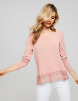 Dotti Edwardian Long Sleeve Top