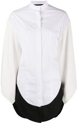 Haider Ackermann Long-Line Shirt