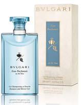 Bvlgari Eau Parfumé;e Au Thé; Bleu Shampoo and Shower Gel, 6.8 oz.