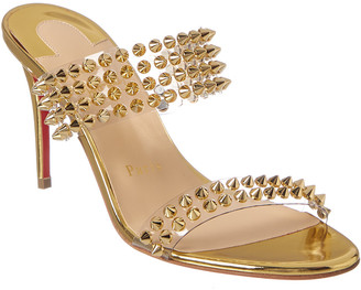 Christian Louboutin Spikes Only 85 Leather Mule