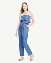Ann Taylor Home Dresses Chambray Halter Top Jumpsuit Chambray Halter Top Jumpsuit