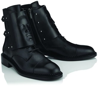Ganor Dominic Ares Black Boots Mens