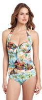 Seafolly Women's South Pacific Maillot One-Piece Swimsuit