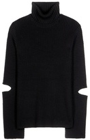 Public School Merino Wool And Cotton Sweater With Cut-outs