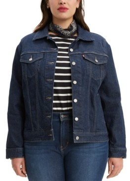 Levi's Trendy Plus Size Trucker Denim Jacket