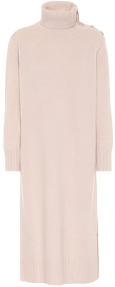Max Mara Musa wool and cashmere midi dress