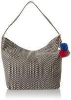 Volcom The Market Hobo Handtasche Damen, Women's Handbag, Schwarz (), 20x48x45 cm (B x H T)