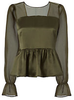 Exclusive for Intermix Mika Bow Back Blouse