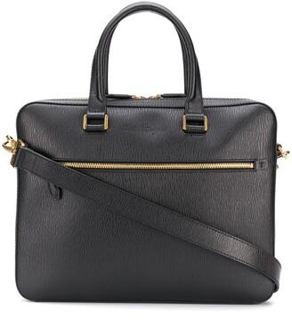 Salvatore Ferragamo Logo Embossed Business Bag