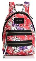 Marc Jacobs Biker Spotted Lily Printed Mini Backpack