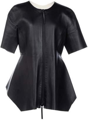 Marni Black Leather Jackets