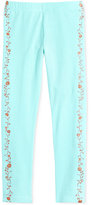 Epic Threads Mix and Match Floral-Print Tuxedo Leggings, Little Girls (4-6X), Created for Macy's