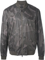 Z Zegna camouflage bomber jacket - men - Polyester/Polyamide - S