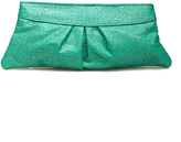 Lauren Merkin, Eve clutch in glitter linen