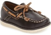 Kenneth Cole New York 'Flexy' Boat Shoe (Walker & Toddler)