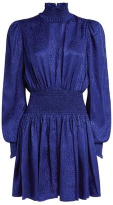 Balmain Silk Leopard Print Dress
